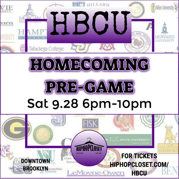 HBCU Homecoming Kickoff Party