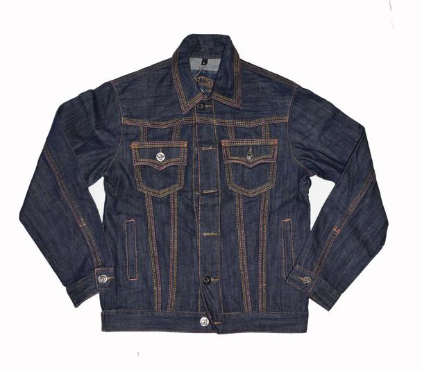 Multi Stitched Denim Jacket
