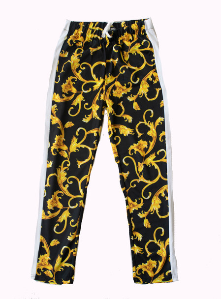 Baroque Print Track Pants