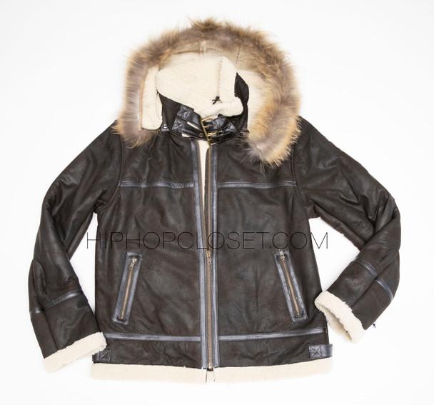 Leather lightweight B3 Bomber Jacket