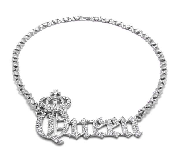 Silver Queen Necklace