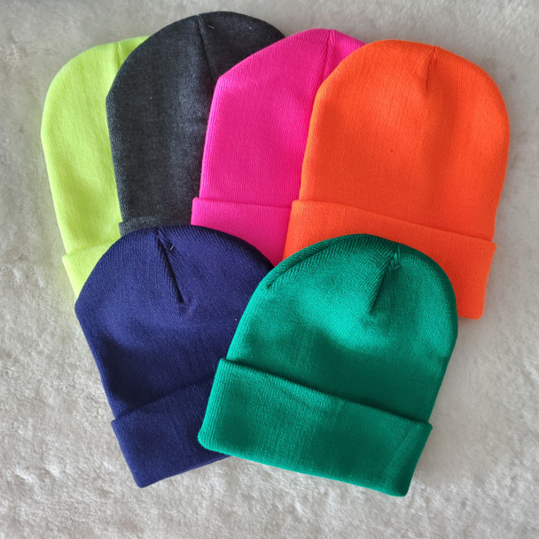Colorful Beanie Knit Caps