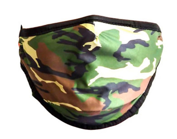 Fydelity Camouflauge Face Cover
