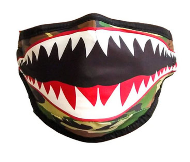Shark Mouth Fydelity Face Cover