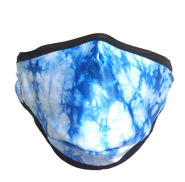 Blue Skies Tie Dye Face Cover