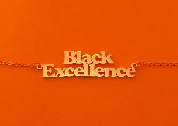 Brownie Points Black Excellence Necklace
