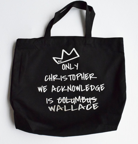 Christopher Wallace Canvas Tote Bag