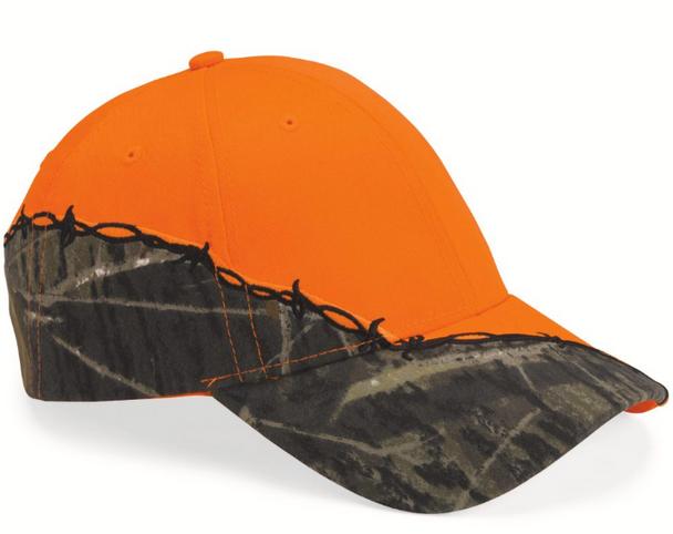 Orange Forest Baseball Cap