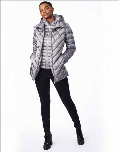 EcoPlume Pack-able A-Line Jacket with Bib