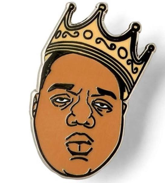 The Notorious B.I.G. Lapel Pin