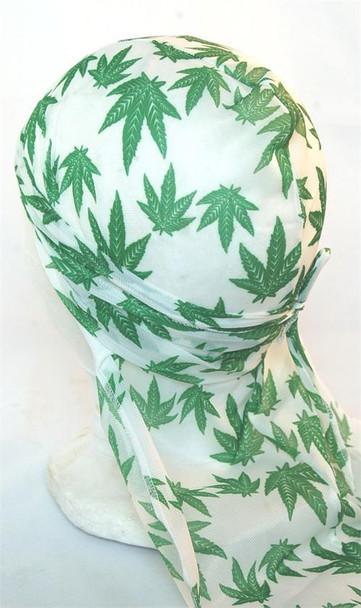 Marijuana Print Du Rag