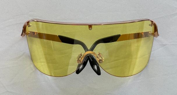 Oversized Yellow Colored Sunglasses
