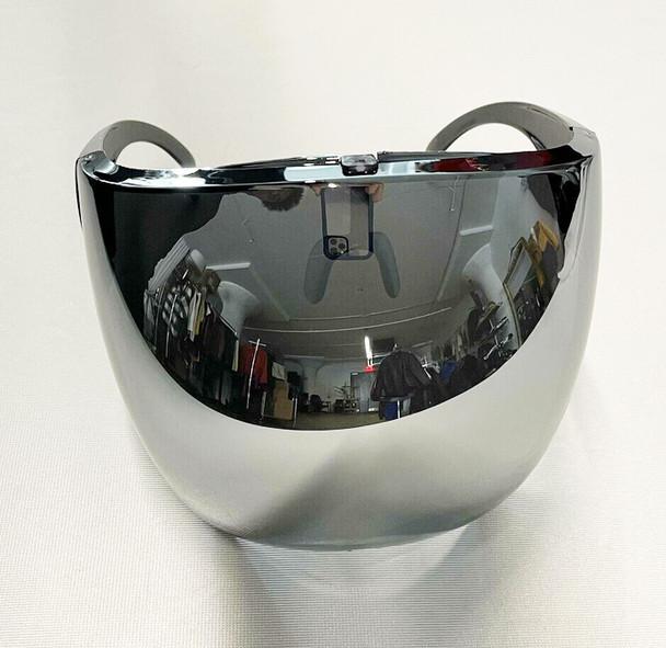Silver Mirror Anti Fog Bubble Face Shield
