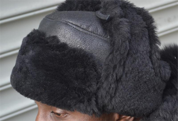 Custom Matching Trooper Sheepskin Hat