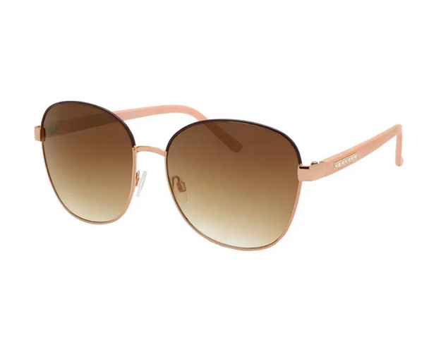 Peach Rounded Sunglasses