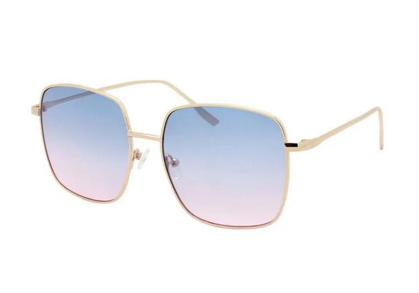 Malibu Blue and Pink Sunset Sunglasses