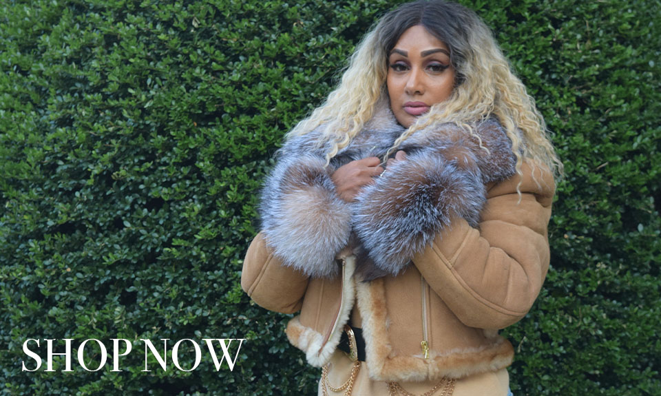 sheepskin and shearling coats and jackets for women hiphopcloset new york