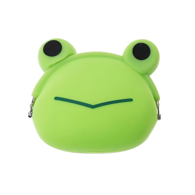 HAB1115 Portable Frog Silicone Coin Purse