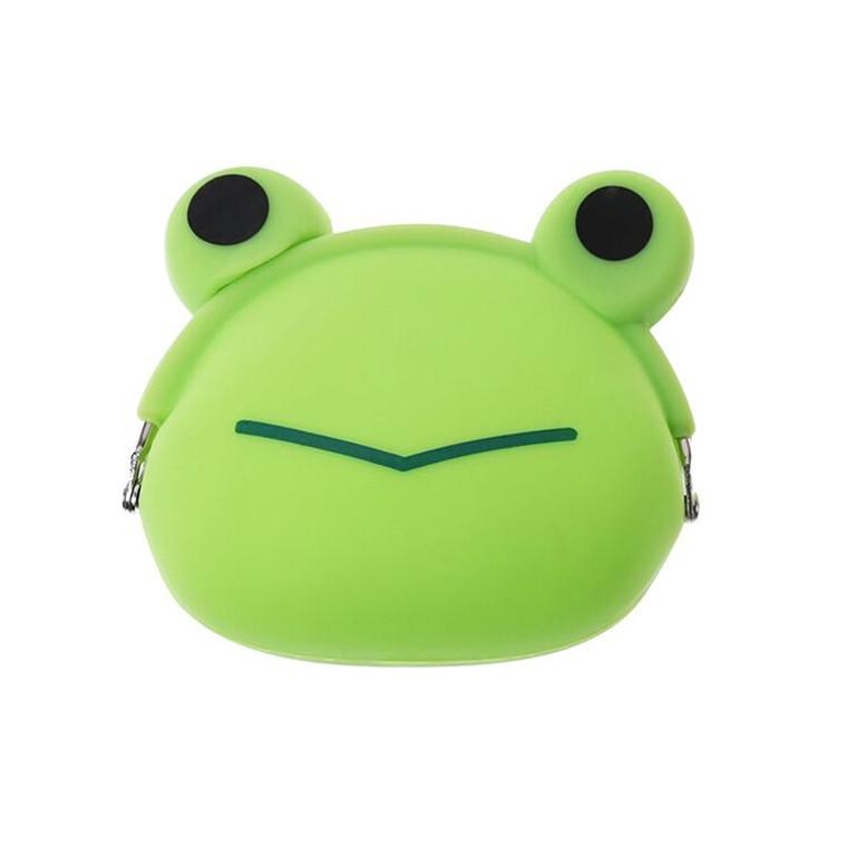 HAB1115 Portable Frog Silicone Coin Purse