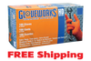 Gloveworks® HD Orange Nitrile Industrial Glove, $33.15 per 100 gloves, 10 boxes of 100 per case