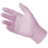 Halyard Lavender Nitrile Exam Gloves