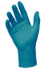 PowerForm Extended cuff nitrile exam glove teal