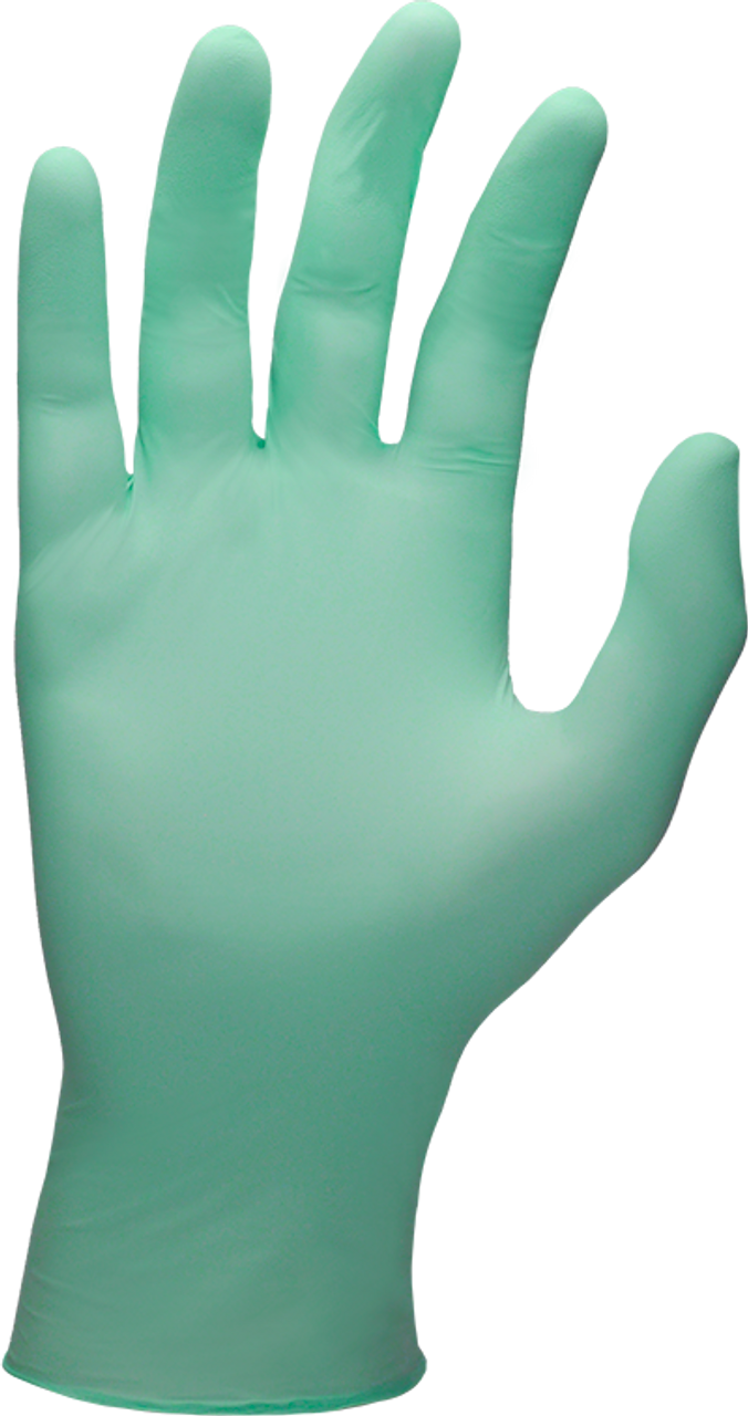 SW AloeForm Soft Powder-Free Green Nitrile ActivAloe Exam Glove