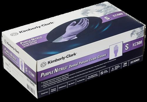 Kimberly Clark (Halyard) Purple Nitrile Exam Glove Box