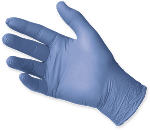 Microflex Sensation Nitrile Gloves, $8.97 per 100 gloves, 10 boxes of 100 per case