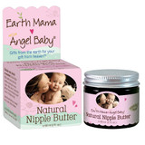 Natural Nipple Butter (2oz)  Sore, cracked nipples?  Mama's got just the safe, soothing breastfeeding balm for you!  Natural Nipple Butter was the first lanolin free nipple cream and the first verified non GMO nipple cream too. It's not a bit sticky, so it smooths on like, well, butter!  Clinically tested, hospital recommended, Certified by Oregon Tilth and Non-GMO Project Verified, Natural Nipple Butter is a safe, zero toxin calendula nipple cream for nursing mamas, and anyone with dry, cracked skin.  Chapped cheeks? Check! Dry elbows? Yup. And of course, healing help for nipples that are taking a beating from breastfeeding.  Safe for baby too - no need to wash it off before nursing!  Apply after each feeding, or as needed on lips, cheeks, heels and elbow