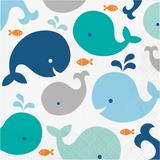 Lil Spout Blue Whale 2 Ply Luncheon Napkins