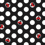 Ladybug Fancy 3-Ply Beverage Napkins