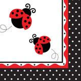 Ladybug Fancy 3-Ply Luncheon Napkins