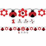 Ladybug Fancy Banner