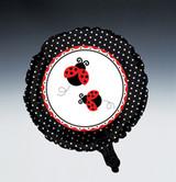 Ladybug Fancy Metallic Mylar Balloon