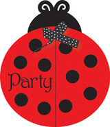 Ladybug Fancy Party Invitations