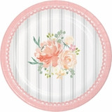 """Country Floral Dessert Plates - 7"""""""