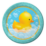 "Bubble Bath Dinner Plates - 9"""