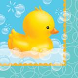 Bubble Bath Luncheon Napkins