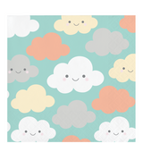 Clouds Baby Shower Beverage Napkins