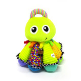 An award-winning classic toy, the musical Lamaze Octotunes features a full octave of notes that allow mom and baby to make merry music together.     Eight colorful tentacles are composed of different textures and patterns, and when squeezed, a different musical note can be heard from each.     Young infants will love the bright colors and big friendly face, and older babies will enjoy exploring and learning that each tentacle plays a different sound when they grab and squeeze them.