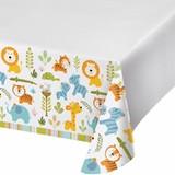 Happi Jungle Plastic Tablecloth