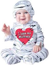 Fun World InCharacter Costumes Baby's I Love My Mummy Costume White Large