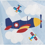 Toy Airplane Beverage Napkins