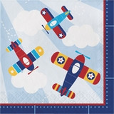Toy Airplane Luncheon Napkins