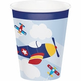 Toy Airplane Cups - 9oz