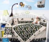 Camouflage Army Crib Bedding Set