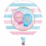 Gender Reveal Balloons Mylar Balloons