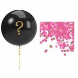 Pink Gender Reveal Balloons Balloon Kit
