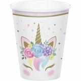 Unicorn Baby Shower Paper Cups - 9oz
